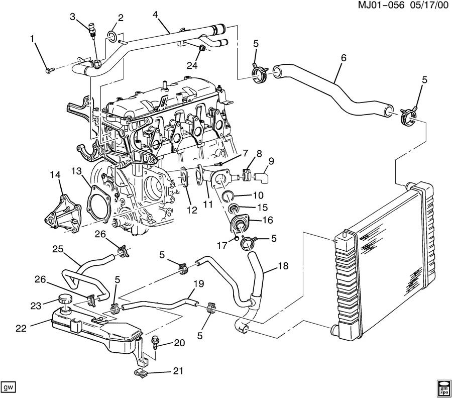 4 cylinder engine diagram coolant  4  get free image about